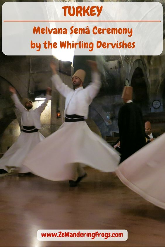 Melvana Semâ Ceremony by the Whirling Dervishes // Beyond a beautifully and carefully choreographed demonstration, with unusual dancers and hypnotizing music, the Semâ ceremony is front and foremost a religious performance with highly spiritual meaning.