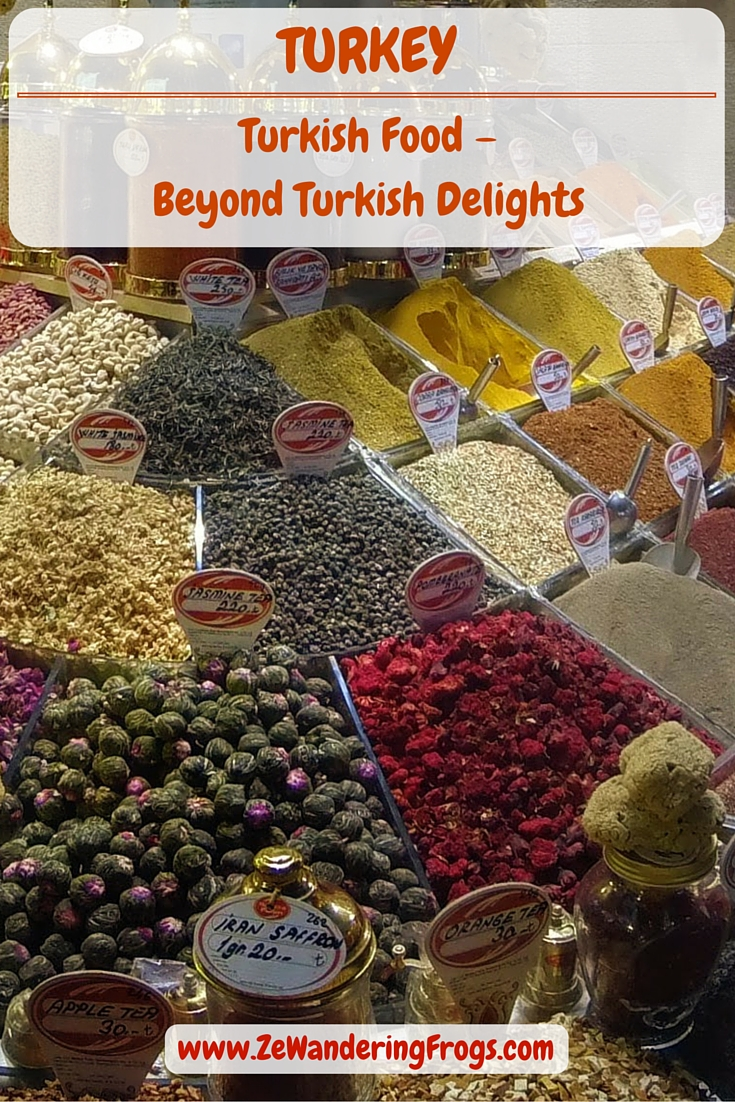 Turkish Food – Beyond Turkish Delights // Arriving in Istanbul, and across our 10 days in Turkey, I discovered so many different flavors I wish I could find a local Turkish store nearby and carry on splurging into savory Turkish food. While Kebab is a regular staple, you can find different meats and toppings that make each meal unique.