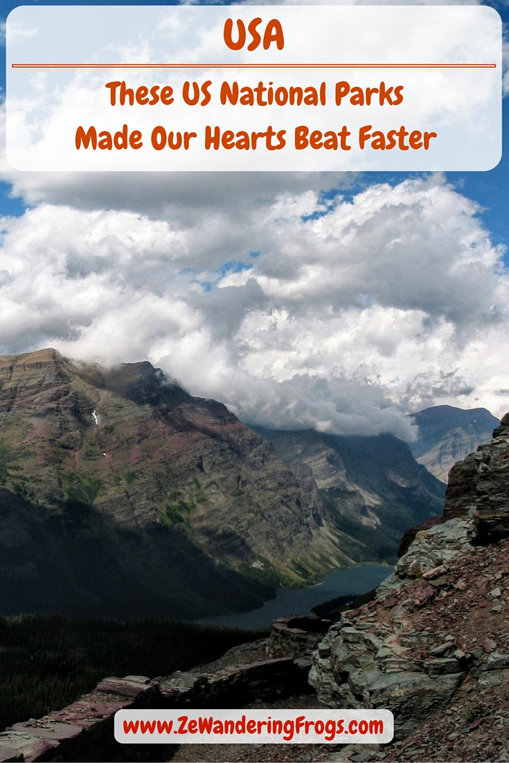 These US National Parks Made Our Hearts Beat Faster // We are big fans of the US National Parks and enjoyed their amazing trail systems from Yosemite to the Everglades, and from Olympic to Mesa Verde. The list was difficult to compile as each park is unique and offers something different, and we love them all. Here are the ones that stole our hearts, more than others and in no particular order.