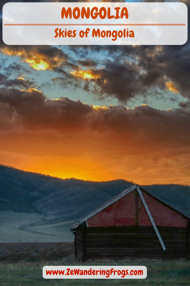 Skies of Mongolia // Mongolia's skies are different. Noticeably different and beautifully so. And because photos speak louder than words, follow the mood of Mongolia through...