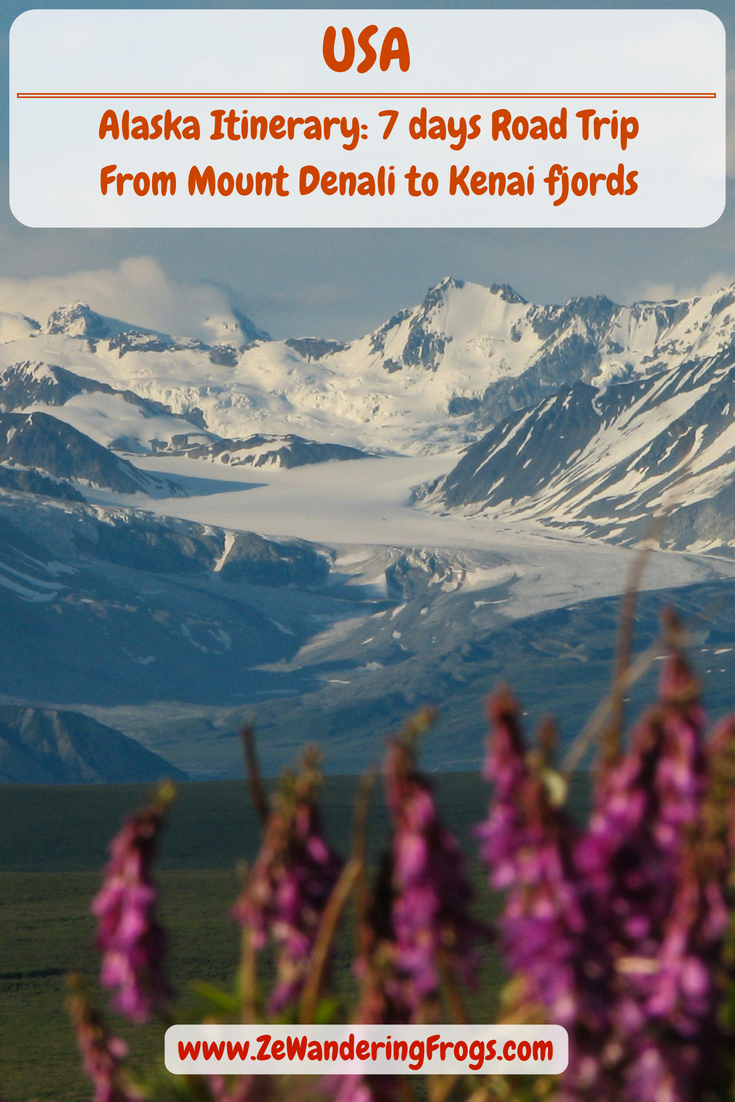 #Alaska #Itinerary 7 Days // #Denali Mountains